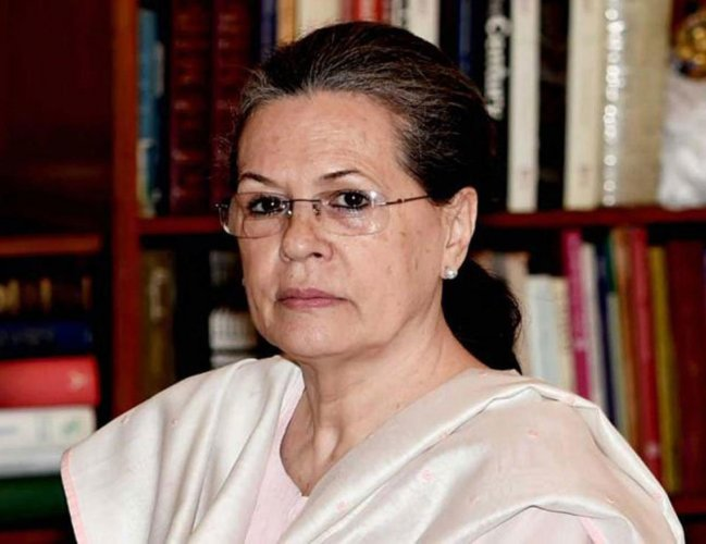 Top Congress leader Sonia Gandhi. File photo
