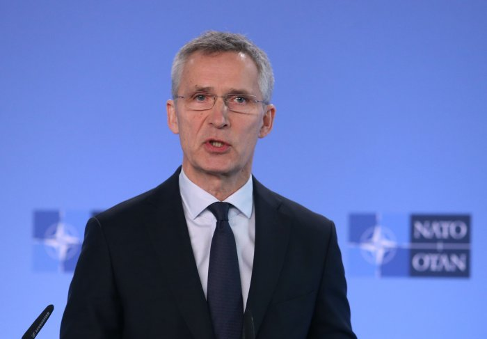 NATO Secretary General Jens Stoltenberg. (AFP Photo)