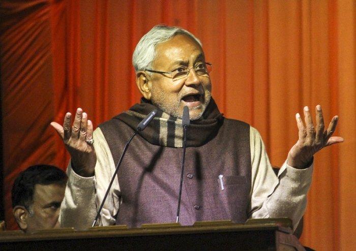 Bihar CM Nitish Kumar. (PTI Photo)