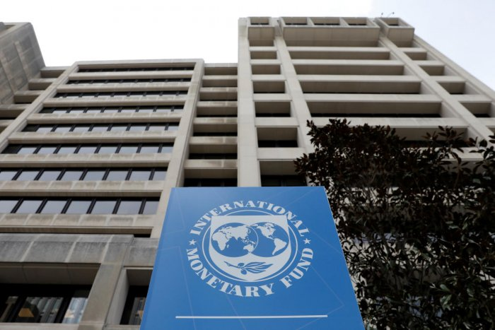 The International Monetary Fund (IMF) headquarters building is seen ahead of the IMF/World Bank spring meetings in Washington, U.S. (Reuters Photo)
