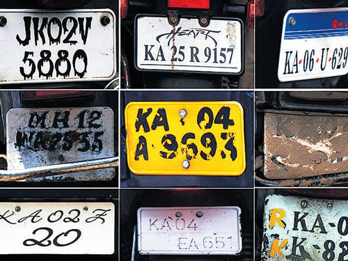 Faulty numberplate cases exceed 70,000-mark