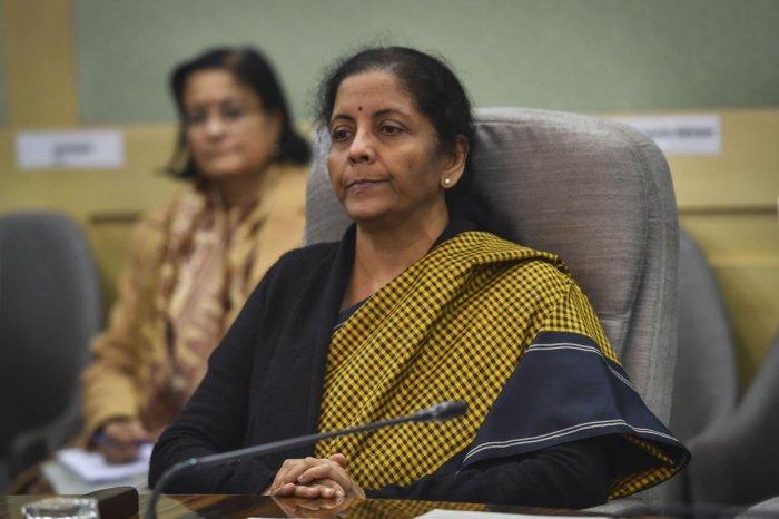 Union Finance Minister Nirmala Sitharaman. (PTI file photo)