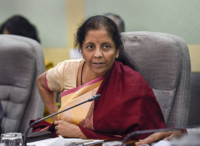 Union Finance Minister Nirmala Sitharaman chairs a pre-budget meeting with economists, in New Delhi. (PTI Photo)