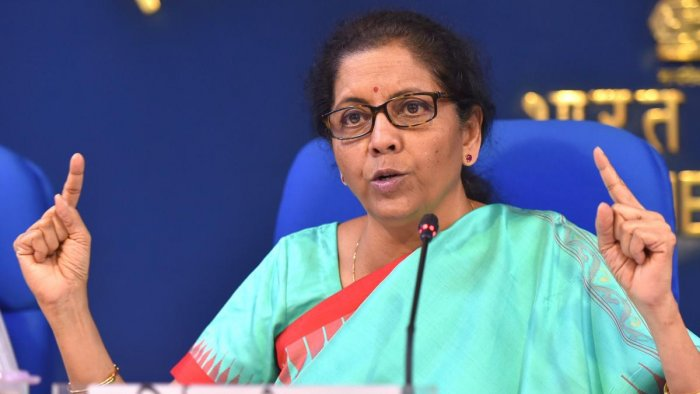 After the Cabinet meeting, Finance Minister Nirmala Sitharaman said the decision has been taken to bring the bill to replace the ordinance. Photo/PTI