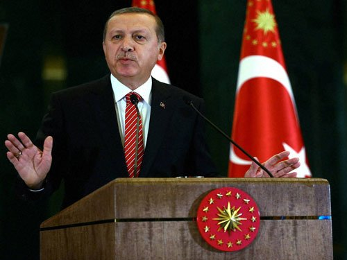 Erdogan chairs security council as 50,000 hit by Turkey purge