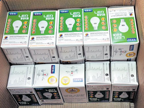 Congress alleges Rs 20,000 cr scam in procurement of LED bulbs