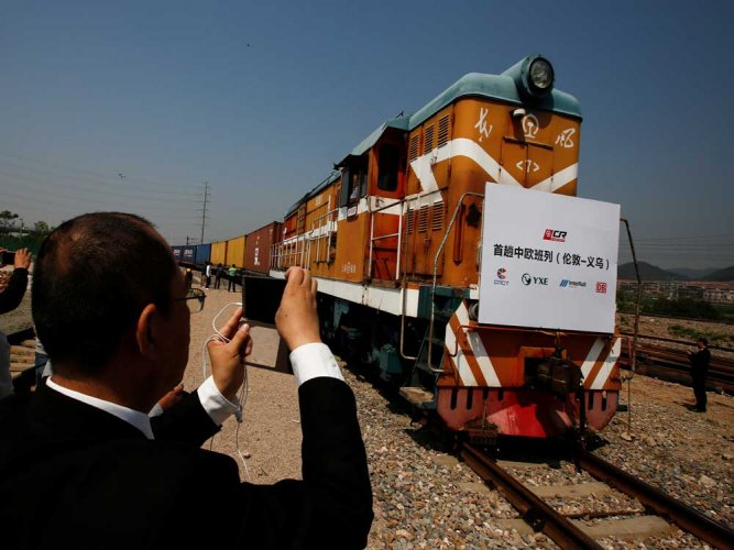 First direct London-China train completes 12,000 km run
