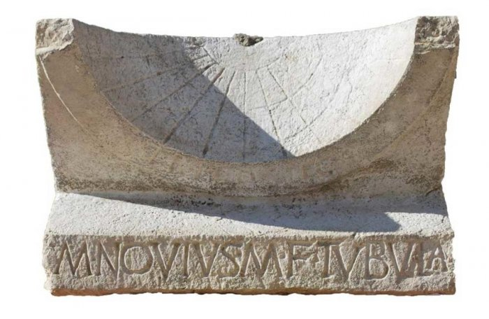 2,000-year-old Roman sundial discovered in Italy