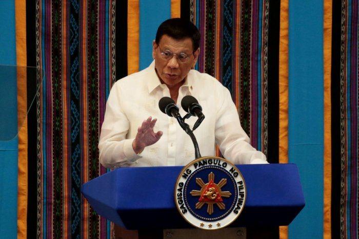 Duterte also approved a month of school closures, ban on mass gatherings and a prohibition on the entry of foreigners from places where the contagion is spreading. Reuters file photo