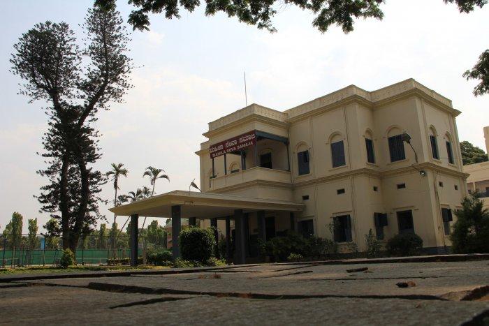 The main school building.