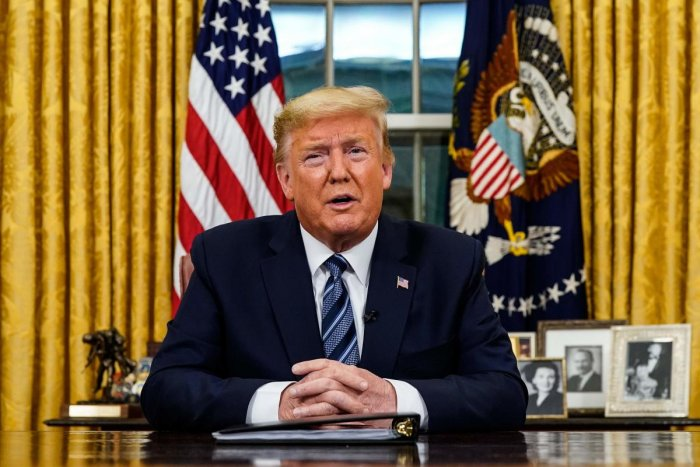 Trump's elimination of the office suggested, along with his proposed budget cuts for the CDC, that he did not see the threat of pandemics in the same way that many experts in the field did. AFP file photo