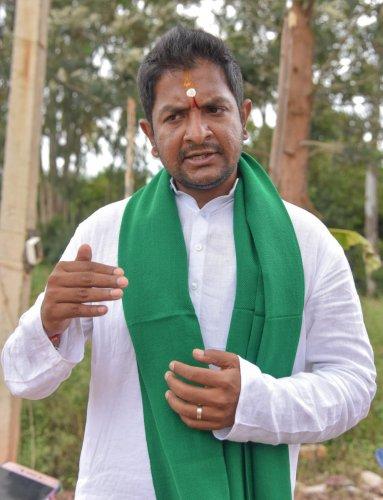 Hoskote legislator Sharath Bachegowda