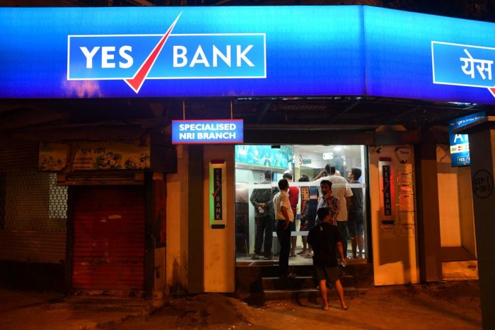 Earlier in the day, Yes Bank announced that seven banks led by SBI have invested Rs 10,000 crore, boosting its core capital,