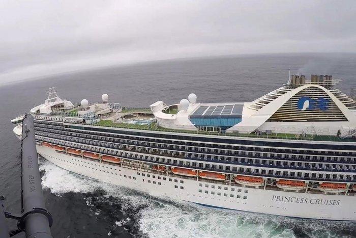 Grand Princess cruise ship (Reuters Photo)