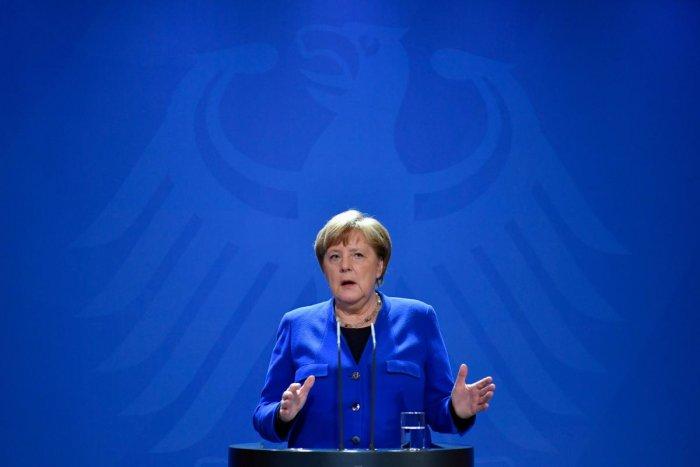 German Chancellor Angela Merkel. (AFP Photo)