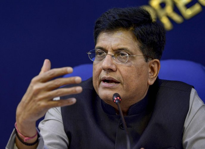 Commerce and Industry Minister Piyush Goyal. Credit: PTI Photo