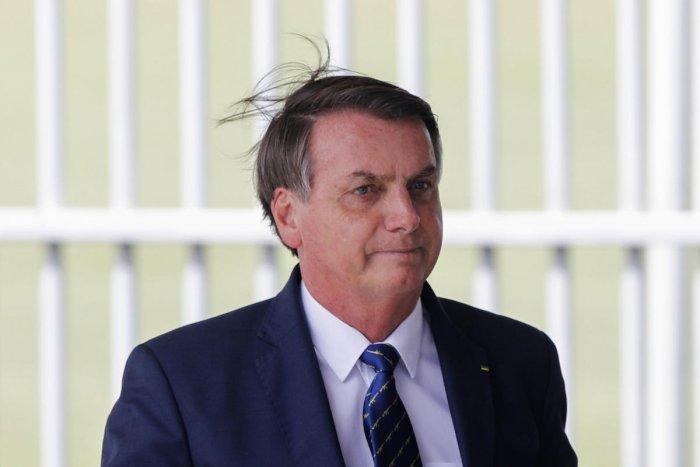 Brazilian President Jair Bolsonaro. (AFP Photo)