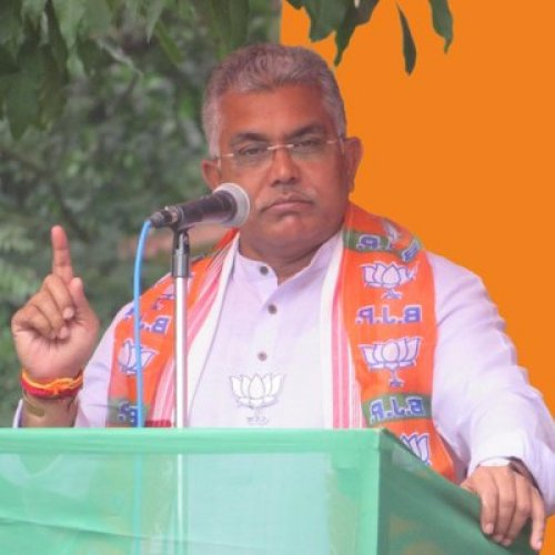 Bengal BJP chief Dilip Ghosh. (DH Photo)