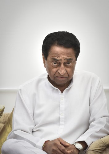 Madhya Pradesh Chief Minister Kamal Nath. (PTI Photo)