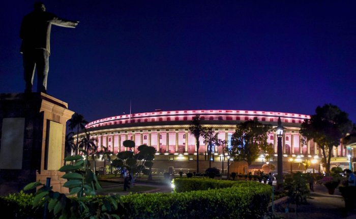 Parliament Building, New Delhi (PTI Photo)