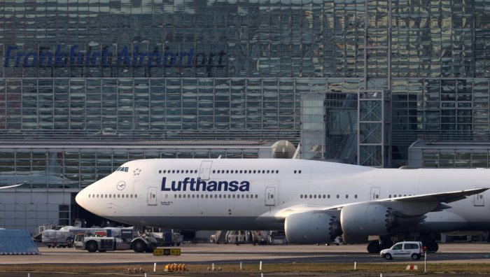 Air plane of German carrier Lufthansa (Reuters Photo)