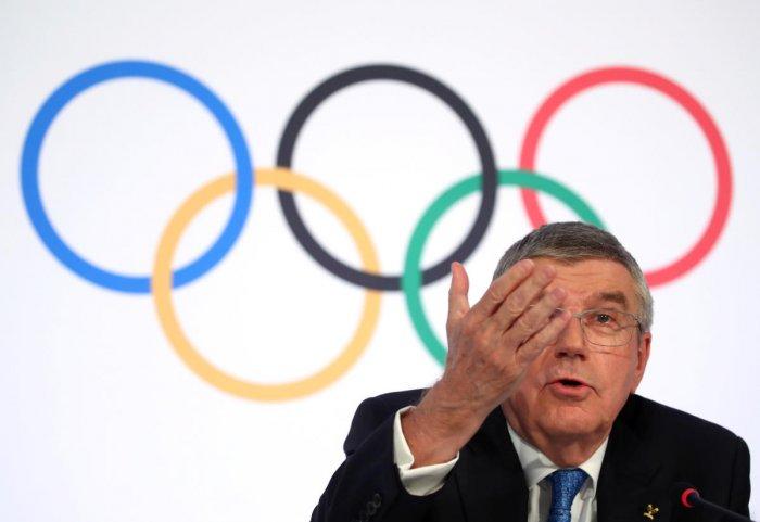 IOC chief Thomas Bach. (Photo credit: Reuters)