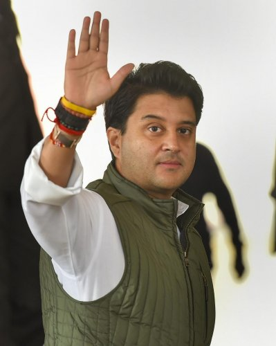 Jyotiraditya Scindia has ensured Madhya Pradesh is back into the BJP kitty just two years after it lost elections there