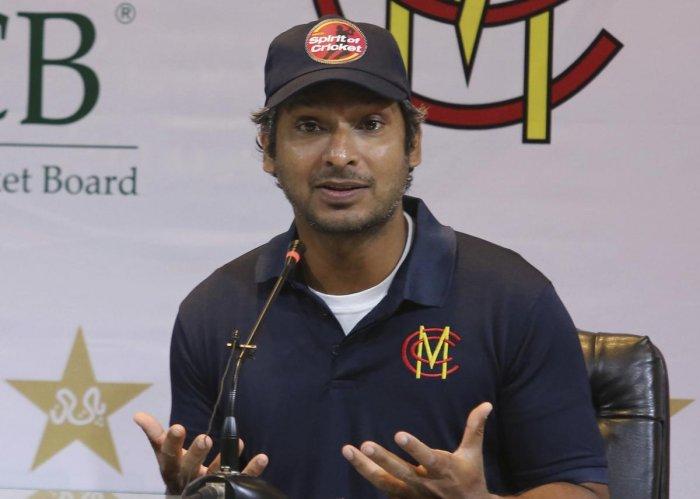 Former Sri Lankan captain Kumar Sangakkara. (AP Photo)