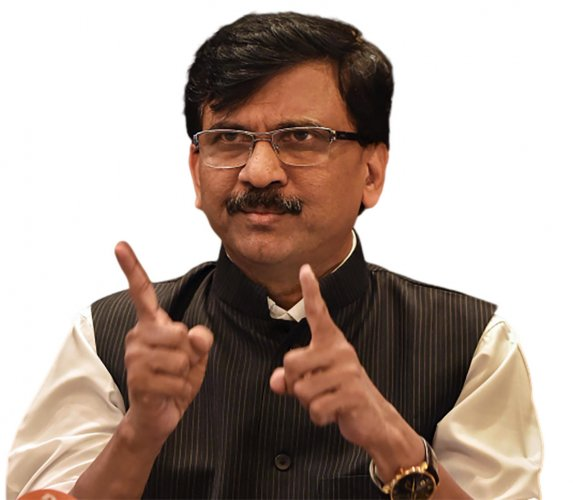 Shiv Sena Sanjay Raut. (DH Photo)