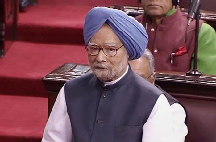 Senior Congress leader Manmohan Singh. Credit: PTI Photo