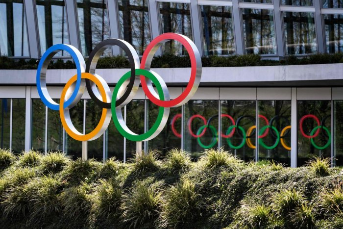 The Olympics are currently scheduled for July, though talks of a delay are increasing. AFP