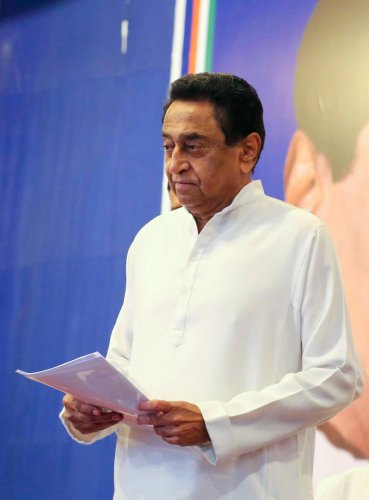 """I met chief minister Shivraj Singh Chouhan. I assured him we are going to be with him for the state's development,"" Kamal Nath told reporters after the meeting."