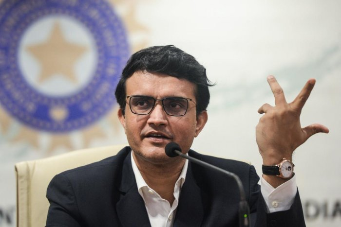 """I am not sure whether you can get insurance money. Because this is a government lockdown. I am not sure whether a government lockdown is covered by insurance or not,"" BCCI president Sourav Ganguly. Credit: AFP Photo"