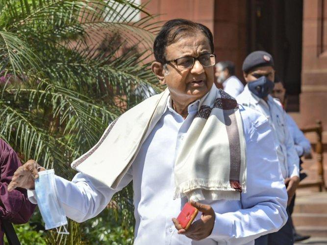 Senior Congress leader P Chidambaram (PTI Photo)