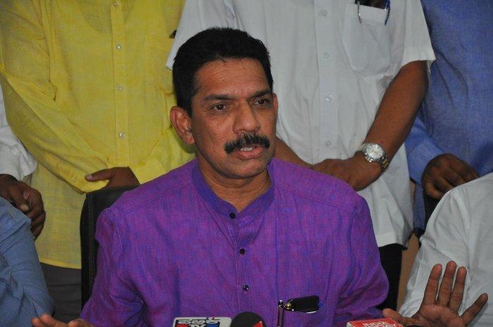 Dakshina Kannada MP Nalin Kumar Kateel. Credit: DH Photo