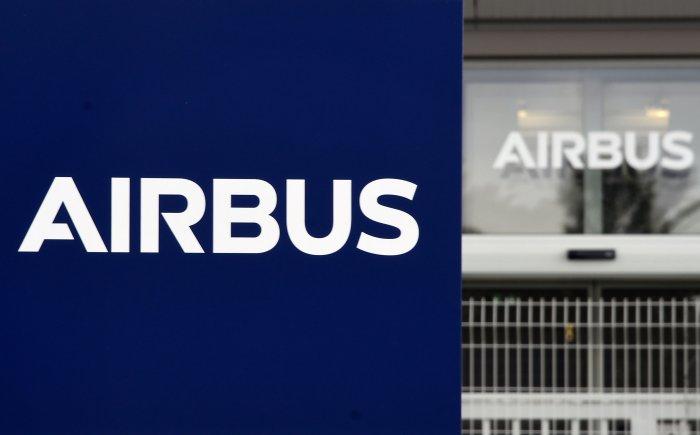 European aircraft manufacturer Airbus. (AFP Photo)