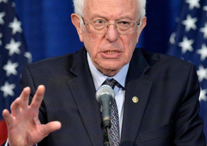 Bernie Sanders. (AFP Photo)