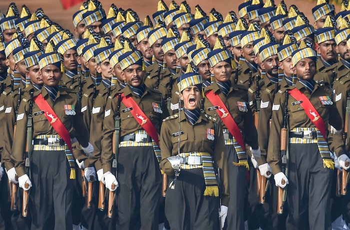 """The slogan """"I will neither get infected nor will I infect others"""" is being """"aggressively followed"""" by Army personnel, he said. (Credit: PTI Photo)"""