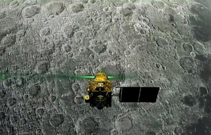 Representative image Vikram lander.