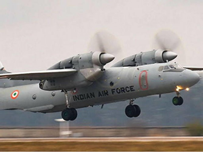 The AN-32 is a twin-engine turboprop Russian origin aircraft and the IAF currently operates a sizeable number of it.File photo