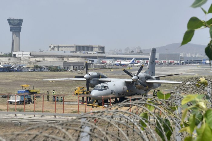 An Indian Air Force (IAF) transport aircraft AN 32, went missing on Monday, with 13 people on board, in Arunachal Pradesh. (PTI Photo)