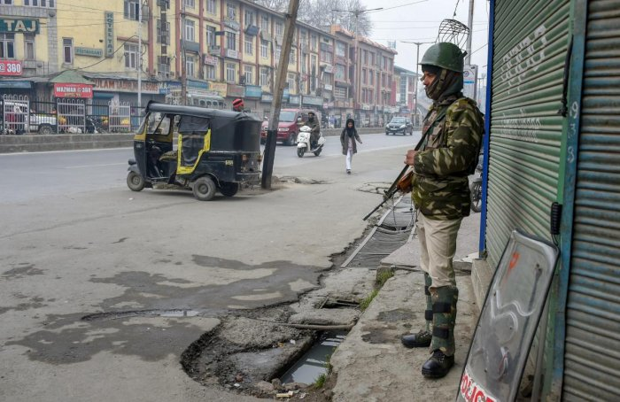 """""""This is a normal procedure and all vital installations across India including, J&K have been put on alert mode,"""" a top security official told DH. (PTI File Photo)"""
