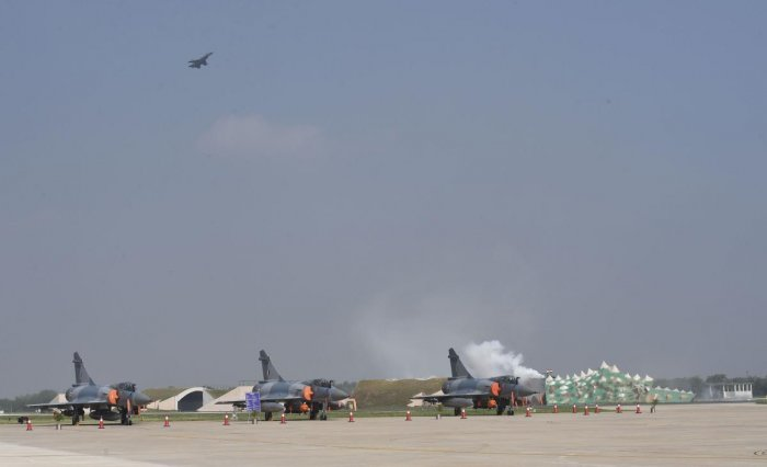 The Indian Air Force lost 27 aircraft, including 15 fighter jets and helicopters, in crashes since 2016, Minister of State for Defence Shripad Naik said. (PTI Photo)