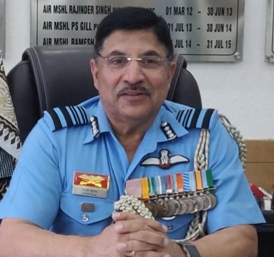 Air Marshal Arvindra Singh Butola took over as Air Officer Commanding-in-Chief of Training Command in Bengaluru on October 14, 2019.