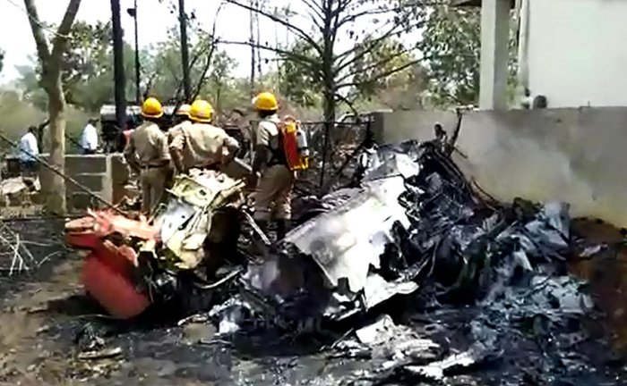 """But responding to Indian Twitterati's vociferous demand for proof of Pakistan shooting down an Indian jet, the Surya Kiran video came handy for many Pak Twitter warriors. Tweeted one of them, """"Indian Pilot captured alive by Pakistan. Here's the evidence India, and the whole world."""" (File photo)"""