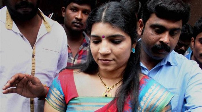 Saritha S Nair. PTI/FILE