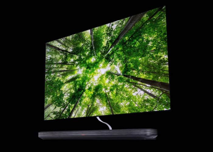 The signature OLED TV from LG. Picture credit: LG
