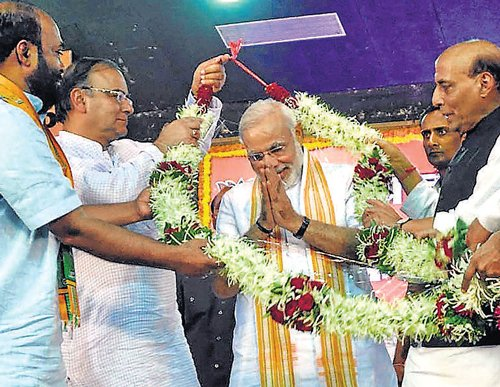 Narendra Modi is BJP poll panel chief