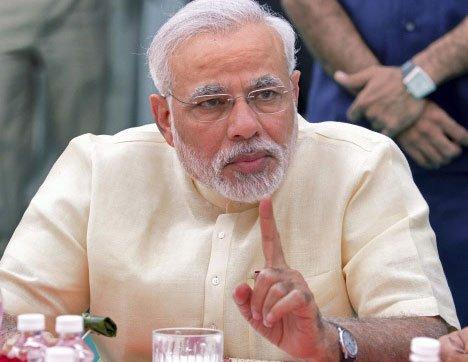 Narendra Modi on Priyanka Gandhi Vadra
