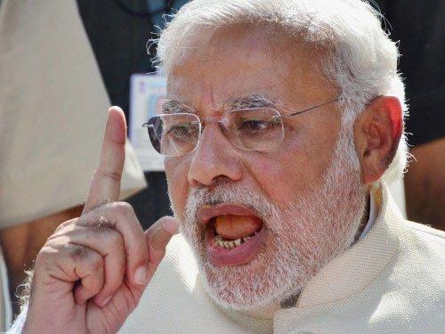 BJP PM nominee Narendra Modi to EC